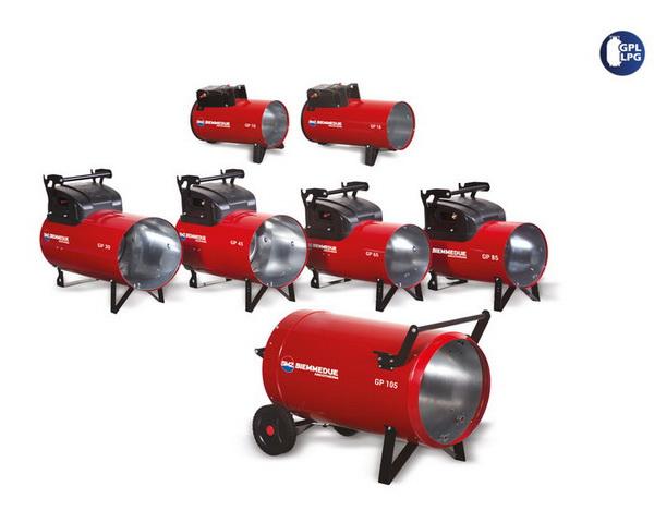 plynové ohrievače