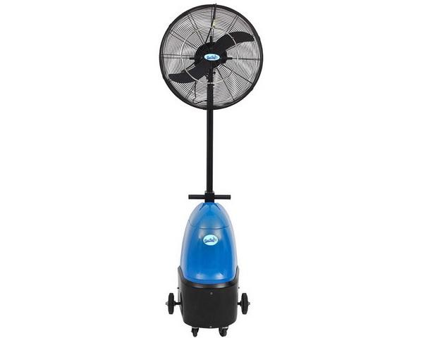 ventilátor s rozprašovačom